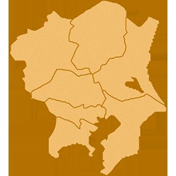 関東の地図